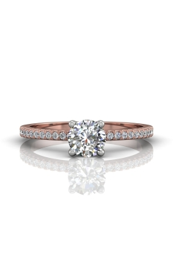 Martin Flyer Flyer Fit Micropave Engagement Ring DERM4XXSTTPQ-C-5.0RD product image