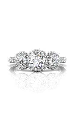 Martin Flyer Three Stone Engagement ring DERT03RDQ-D-5.0RD product image