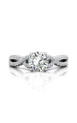 Martin Flyer Micropave Engagement Ring DERM57XSRPL-C-6.5RD product image