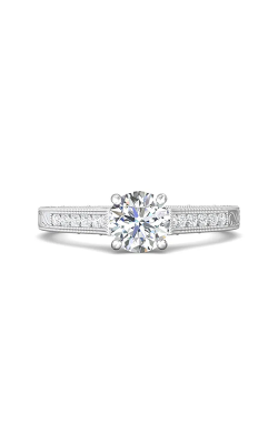 Martin Flyer Channel & Shared Prong Engagement ring VC06PL-AENG-C-6.5RD product image