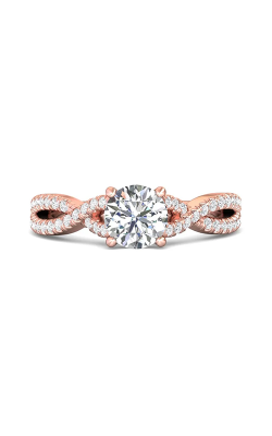 Martin Flyer Micropave Engagement ring DERM57XSRPQ-D-6.5RD product image