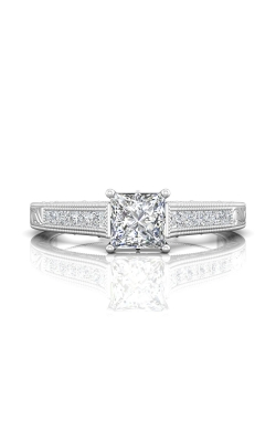 Martin Flyer Channel & Shared Prong Engagement ring VC03Q-AENG-C-5.5PC product image