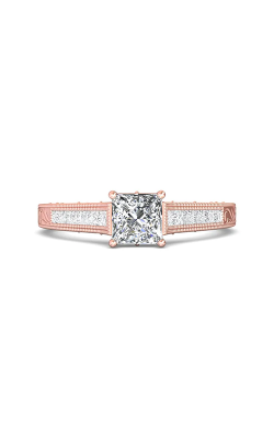 Martin Flyer Channel & Shared Prong Engagement ring VC03PQ-AENG-C-5.5PC product image