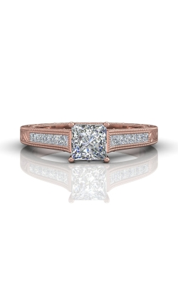 Martin Flyer FlyerFit Channel & Shared Prong Engagement Ring VC03PZ-AENG-C-5.5PC product image