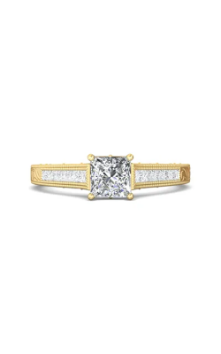 Martin Flyer Channel & Shared Prong Engagement ring VC03YZ-AENG-C-5.5PC product image