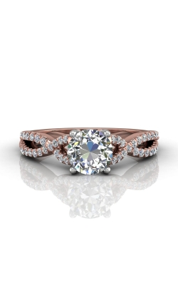 Martin Flyer Flyer Fit Micropave Engagement Ring DERM57XSRTTPQ-F-6.5RD product image