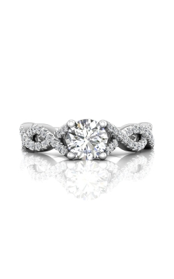 Martin Flyer Flyer Fit Micropave Engagement Ring DERM58SPL-C-6.5RD product image