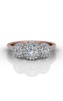 Martin Flyer Three Stone Engagement ring DERT03RDTTPQ-F-5.0RD product image