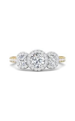 Martin Flyer Three Stone Engagement ring DERT03RDTTYQ-C-5.0RD product image
