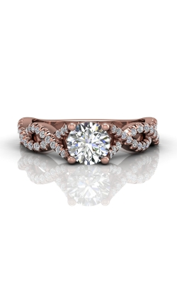 Martin Flyer Flyer Fit Micropave Engagement Ring DERM58SPQ-C-6.5RD product image