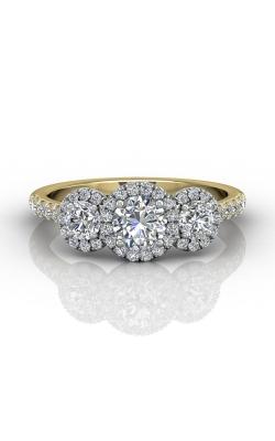 Martin Flyer Three Stone Engagement ring DERT03RDTTYQ-F-5.0RD product image
