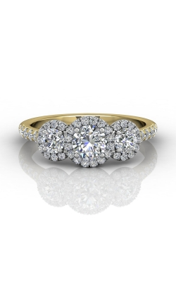 Martin Flyer Three Stone Engagement ring DERT03RDTTYZ-C-5.0RD product image