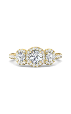 Martin Flyer Three Stone Engagement ring DERT03RDYQ-D-5.0RD product image