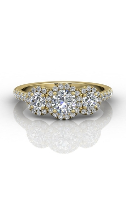 Martin Flyer Three Stone Engagement ring DERT03RDYZ-D-5.0RD product image