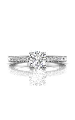 Martin Flyer Flyer Fit Vintage Engagement Ring DERM5XSQ-AENG-F-5.7RD product image