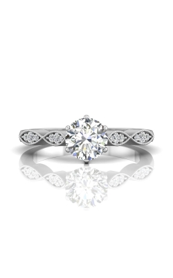 Martin Flyer Flyer Fit Micropave Engagement Ring DERM9PL-C-6.5RD product image
