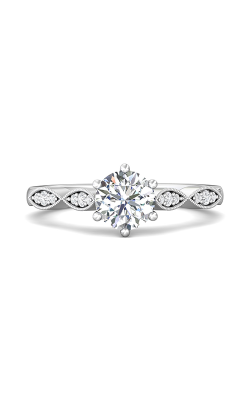 Martin Flyer Micropave Engagement ring DERM9PL-C-6.5RD product image