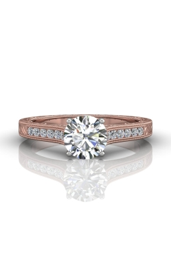 Martin Flyer Channel & Shared Prong Engagement ring VC06TTPQ-AENG-F-6.5RD product image