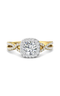 Martin Flyer Micropave Halo Engagement ring DERMH27XSCUTTYZ-C-6.5RD product image