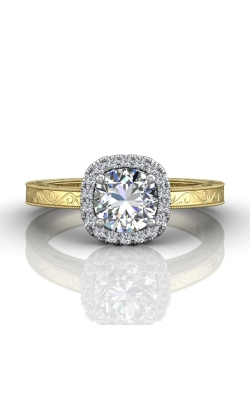 Martin Flyer Flyer Fit Solitaire Engagement Ring VS03CUTTYQ-AENG-D-6.0RD product image