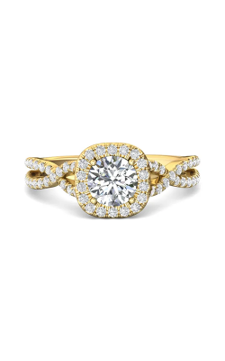 Martin Flyer Micropave Halo Engagement ring DERMH27XSCUYQ-F-6.5RD product image
