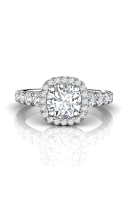 Martin Flyer Micropave Halo Engagement ring DERMH34SPL-F-7.0RD product image