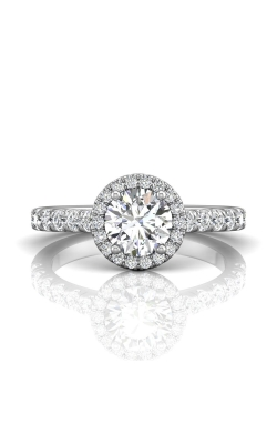 Martin Flyer Micropave Halo Engagement ring DERMH4SZ-F-6.5RD product image
