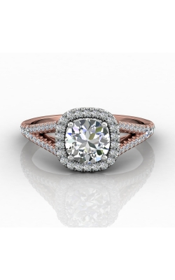 Martin Flyer Split Shank Engagement ring DERMH40XXSCUTTPZ-F-6.5RD product image