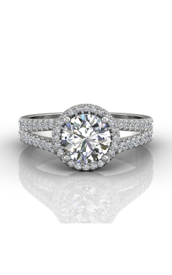 Martin Flyer Split Shank Engagement ring DERMH52XSRDPL-C-6.5RD product image