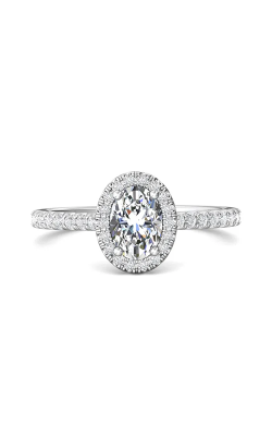 Martin Flyer Micropave Halo Engagement ring DERMH4XSOVPL-D-7X5OV product image