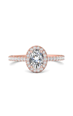 Martin Flyer Micropave Halo Engagement ring DERMH4XSOVPZ-C-7X5OV product image
