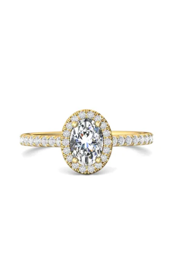 Martin Flyer Micropave Halo Engagement ring DERMH4XSOVYQ-D-7X5OV product image