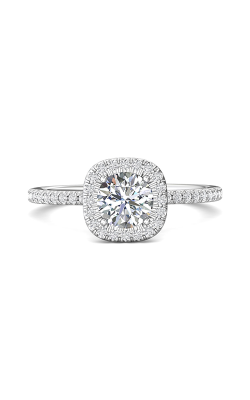 Martin Flyer Micropave Halo Engagement ring DERMH59XXSRPL-C-6.0RD product image