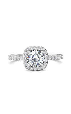 Martin Flyer Micropave Halo Engagement ring DERMH59XSRQ-D-6.5RD product image