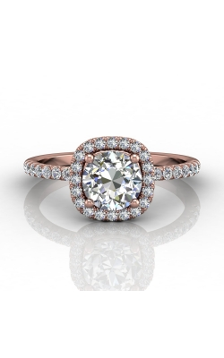 Martin Flyer Micropave Halo Engagement ring DERMH59XSRPQ-C-6.5RD product image