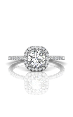 Martin Flyer Micropave Halo Engagement ring DERMH59XXSRZ-D-6.0RD product image