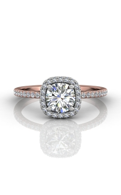 Martin Flyer Micropave Halo Engagement ring DERMH59XXSRTTPQ-F-6.0RD product image