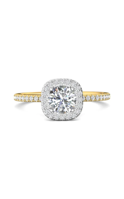 Martin Flyer Micropave Halo Engagement ring DERMH59XXSRTTYQ-F-6.0RD product image