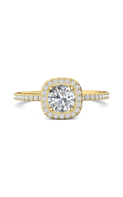 Martin Flyer Micropave Halo Engagement ring DERMH59XXSRYQ-C-6.0RD product image