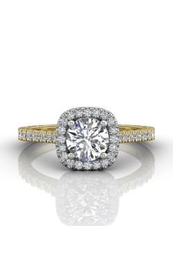 Martin Flyer Flyer Fit Vintage Engagement Ring DERMH5XSRCUTTYZ-AENG-F-6.5RD product image