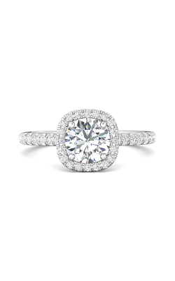 Martin Flyer Micropave Halo Engagement ring DERMH7CUZ-F-6.5RD product image