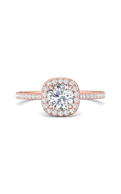Martin Flyer Micropave Halo Engagement ring DERMH7XSCUPQ-D-6.0RD product image