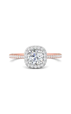 Martin Flyer Micropave Halo Engagement ring DERMH7XSCUTTPQ-F-6.0RD product image