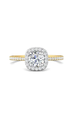 Martin Flyer Micropave Halo Engagement ring DERMH7XSCUTTYZ-D-6.0RD product image