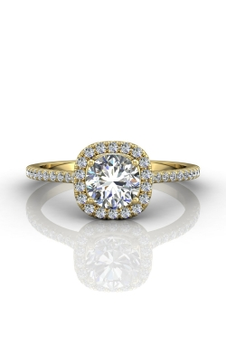 Martin Flyer Micropave Halo Engagement ring DERMH7XSCUYQ-D-6.0RD product image