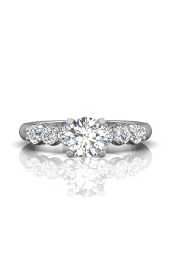 Martin Flyer FlyerFit Channel & Shared Prong Engagement Ring DERSP02ASPL-C-6.5RD product image