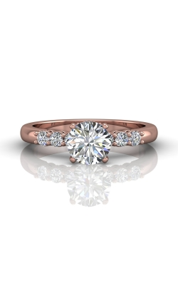 Martin Flyer Channel & Shared Prong Engagement ring DERSP02AXSPQ-C-6.0RD product image