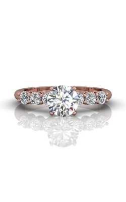 Martin Flyer Channel & Shared Prong Engagement ring DERSP02ASPQ-F-6.5RD product image