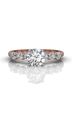Martin Flyer Channel & Shared Prong Engagement ring DERSP02ASTTPQ-C-6.5RD product image