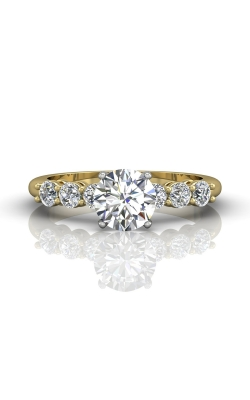 Martin Flyer Channel & Shared Prong Engagement ring DERSP02ASTTYQ-C-6.5RD product image
